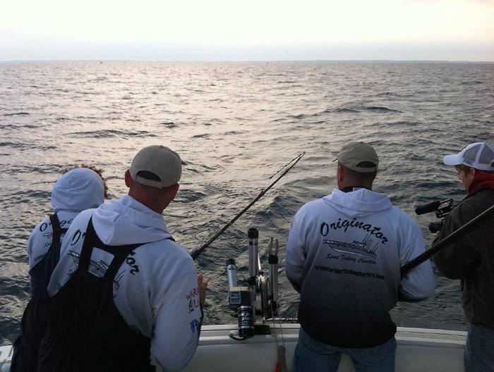 Originator fishing charter photo gallery for Michigan city fishing charters