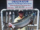 Large King Salmon Originator Fishing Charters