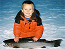 Kids Steelhead Fishing St.Joseph River Originator Fishing Charters